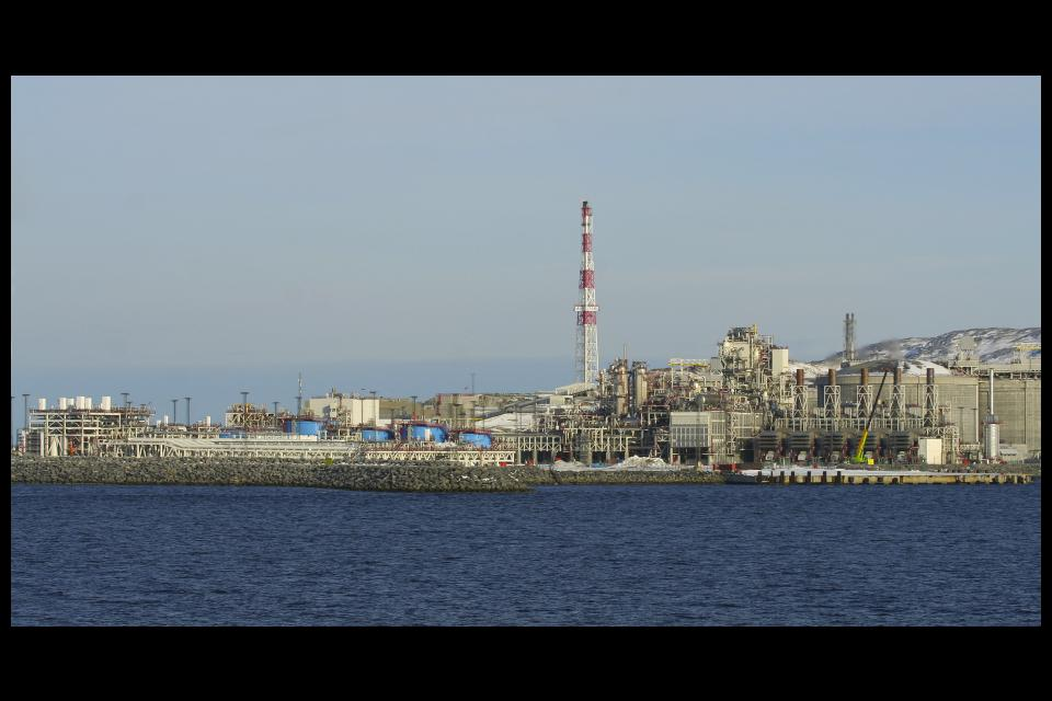 Industrieanlagen von Hammerfest, Foto by Lookabout's Wife