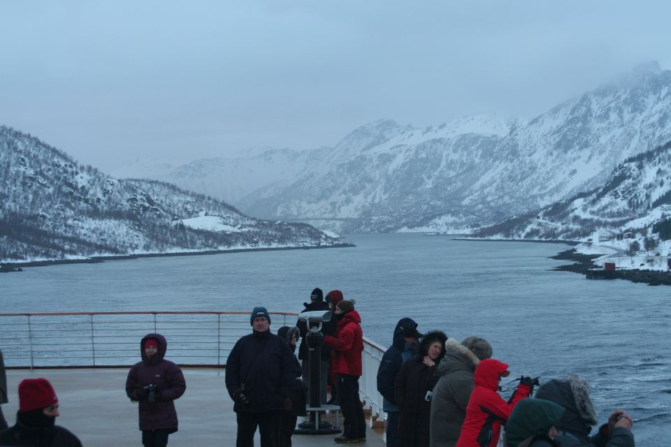 Raftsund, Hurtigruten, abends am 9. März 2012, by Lookabouts Wife